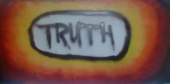 Truth spray painting